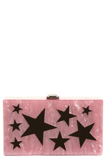 Nordstrom Etoile Acrylic Box Clutch