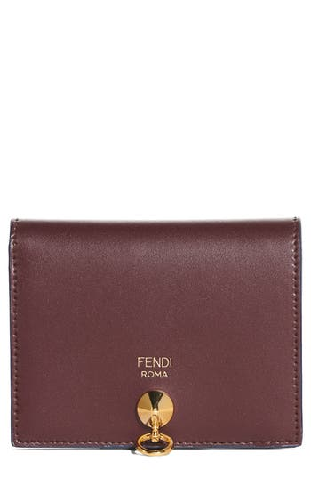 Fendi Small Leather French..