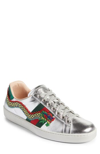Gucci New Ace Dragon Sneaker Men Nordstrom