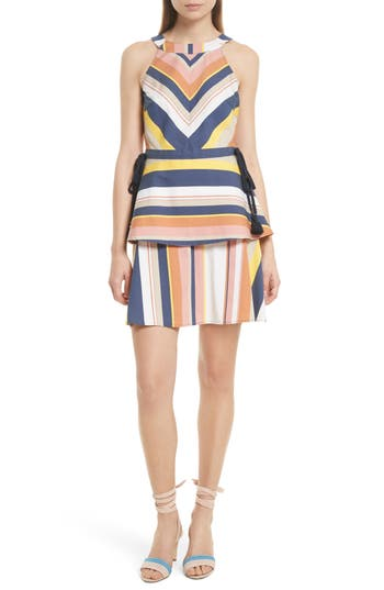 Tanya Taylor Noemi Stripe Dress