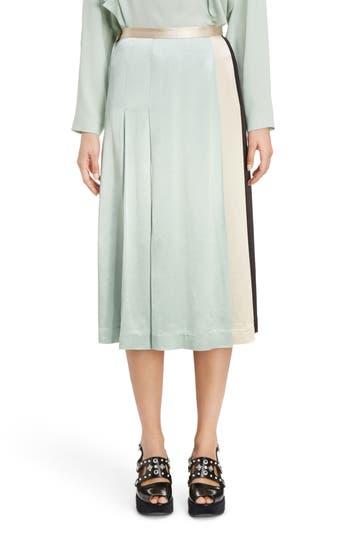 TOGA Pleated Satin Skirt