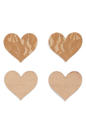 Nippies by Bristols Six Heart Nipple Covers