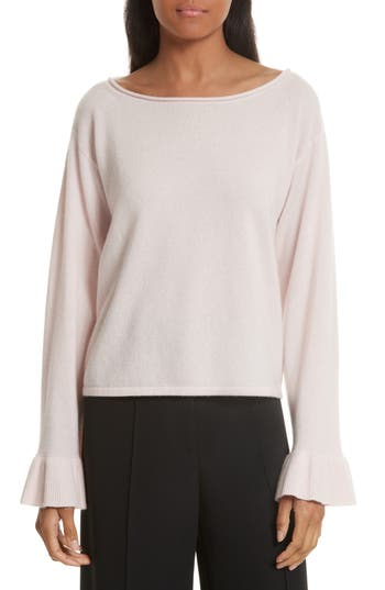 Milly Flare Sleeve Cashmere Sweater