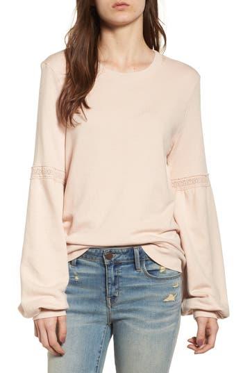 Hinge Blouson Sleeve Sweatshirt