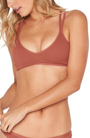 L Space Isley Ribbed Bikini Top