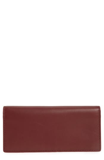 Skagen Slim Vertical Leather Wallet