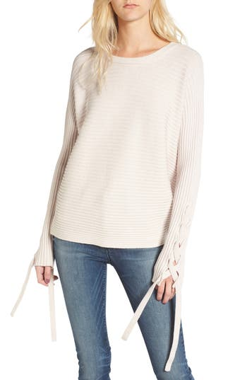 McGuire Bamber Lace-Up Sleeve Sweater
