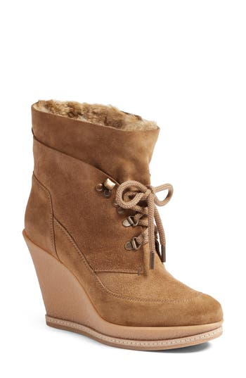 Veronica Beard Mack Platform Wedge Bootie (Women)