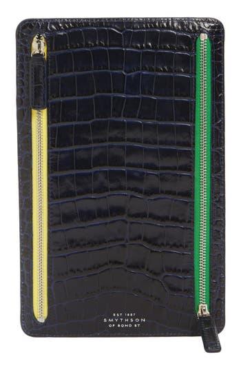 Smythson Mara Leather Zip ..