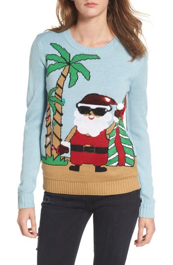 Love by Design Beach Santa Sweater