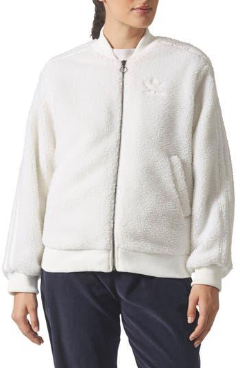 adidas Originals Super Star Fleece Track Jacket
