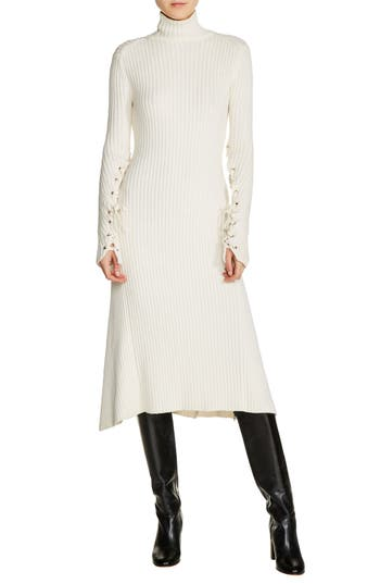 maje Knit Midi Dress