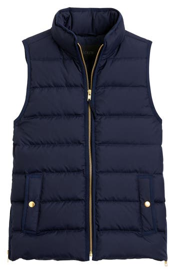 J.Crew Anthem Down & Feather Fill Puffer Vest