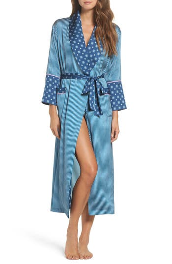 Bed to Brunch Mixed Print Robe