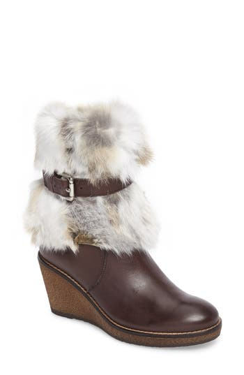 Rudsak Tasarla Genuine Rabbit Fur Trim Boot (Women)