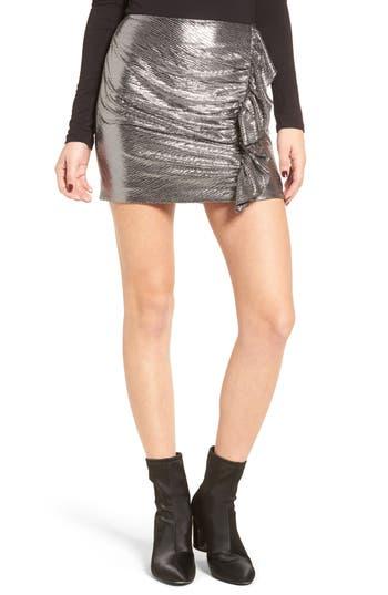 Lovers + Friends Lisa Ruffle Miniskirt