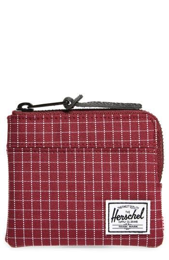 Herschel Supply Co. 'Johnny' Half Zip Wallet