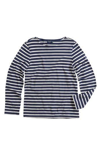 Minquiers Moderne Striped Sailor Shirt by Saint James
