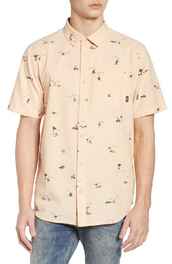 Tres Palmas Short Sleeve Shirt by Vans