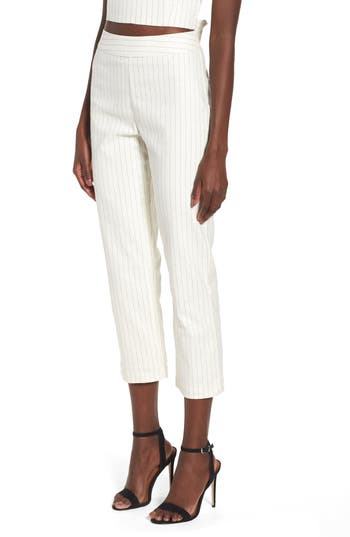 High Waist Linen Pant by 4 Si3 Nna