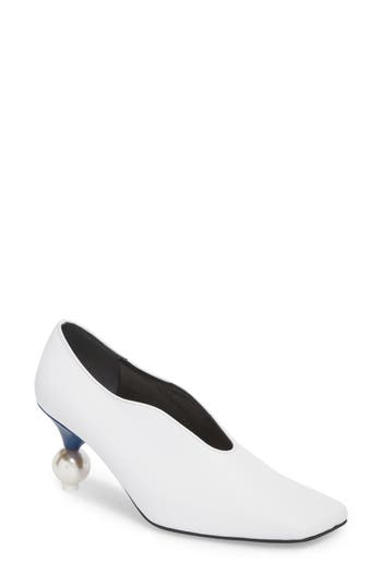 Statement Heel Pump by Yuul Yie
