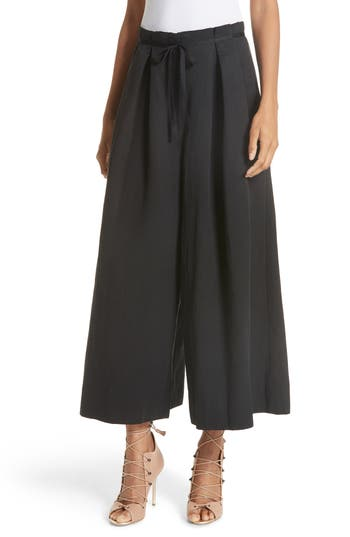Sylvie Twill Culottes by Ulla Johnson