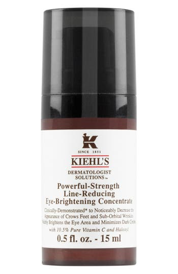 Main Image - Kiehl'sSince 1851 'Dermatologist Solutions™' Powerful-Strength Line-Reducing Eye-Brightening Concentrate