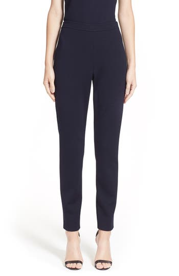 St. John Collection 'Alexa' Stretch Milano Knit Ankle Pants