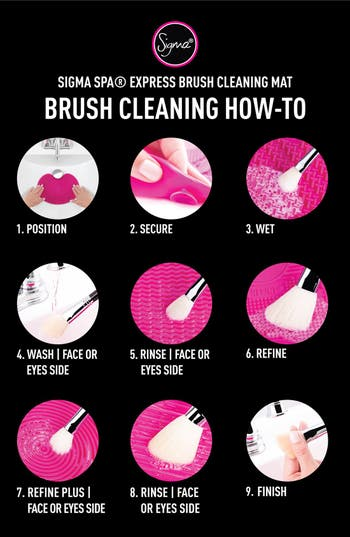 Alternate Image 3  - Sigma Beauty Sigma Spa® Express Brush Cleaning Mat