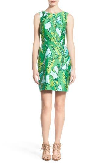 Vineyard Vines Banana Leaf Print Sheath Dress Nordstrom