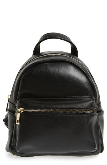 Sole Society Mini Sadie Faux Leather Backpack Nordstrom