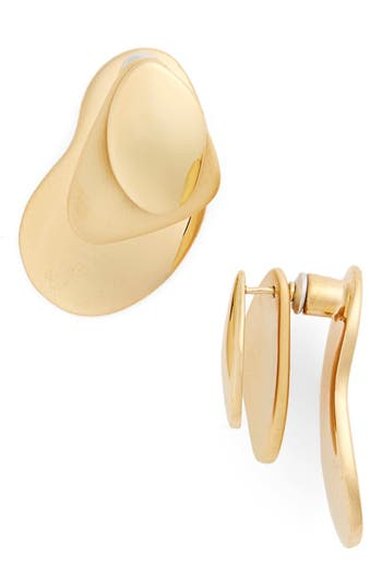 Vermeil Ear Jackets by Charlotte Chesnais