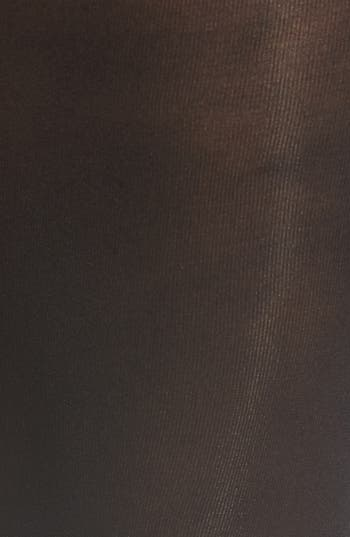 Opaque Tights,                             Alternate thumbnail 3, color,                             Black Mix
