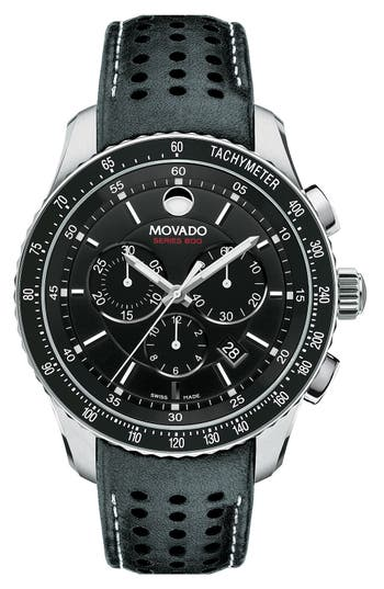 Movado Series 800 Chronograph Strap Watch 42mm Nordstrom