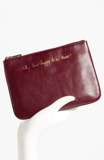 Alternate Image 4  - Rebecca Minkoff 'Erin - Why Limit Happy to an Hour?' Leather Pouch