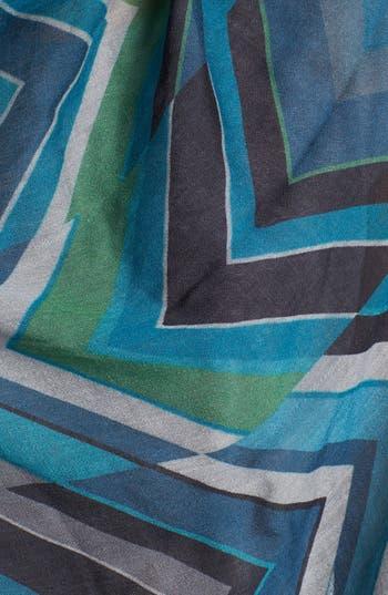 Alternate Image 2  - Jimmy Choo Graphic Wool & Silk Scarf