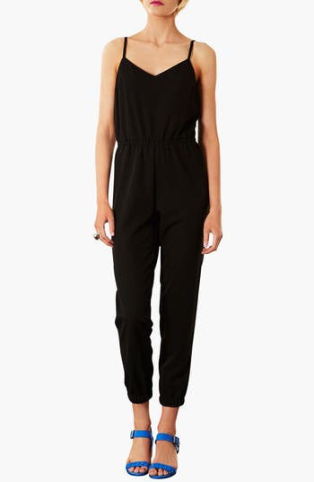 Alternate Image 1 Selected - Topshop Spaghetti Strap Jumpsuit