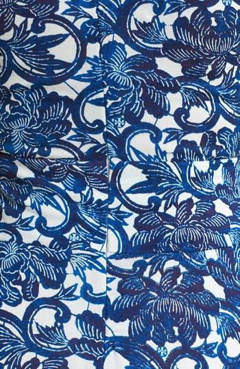 Alternate Image 3  - Tory Burch 'Sophia' Silk Fit & Flare Dress