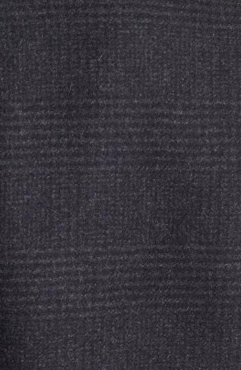 'Elibeth' Wool Blend Coat,                             Alternate thumbnail 3, color,                             Dark Charcoal