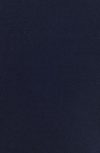 Alternate Image 3  - Calvin Klein Faux Leather Trim Draped Jersey Dress