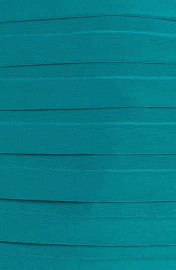 Alternate Image 3  - Adrianna Papell Partial Pleat Jersey Sheath Dress (Plus Size)