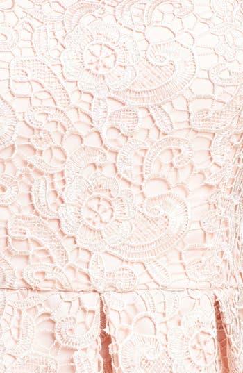 Alternate Image 4  - Aidan Mattox Lace Sheath Dress (Online Only)