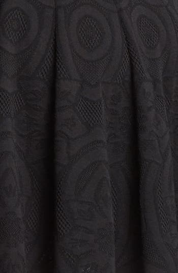 Alternate Image 3  - Alexander McQueen Full Skirt Jacquard Knit Dress