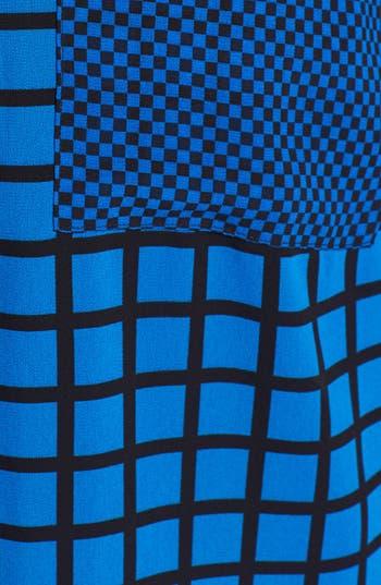 Alternate Image 3  - MICHAEL Michael Kors Zip Shoulder Print Blouse (Plus Size)
