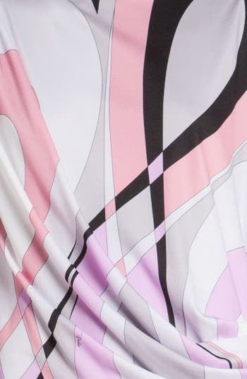 Alternate Image 3  - Emilio Pucci 'Otto Print' Cap Sleeve Jersey Dress