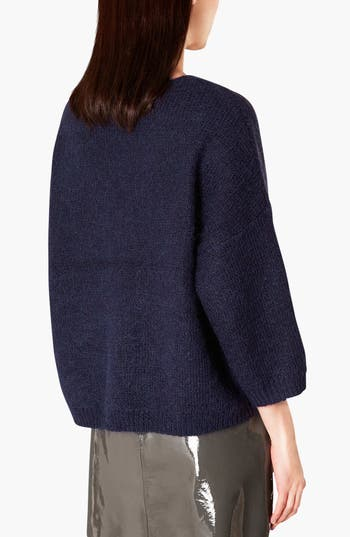 Alternate Image 2  - Topshop Boutique V-Neck Slouchy Sweater