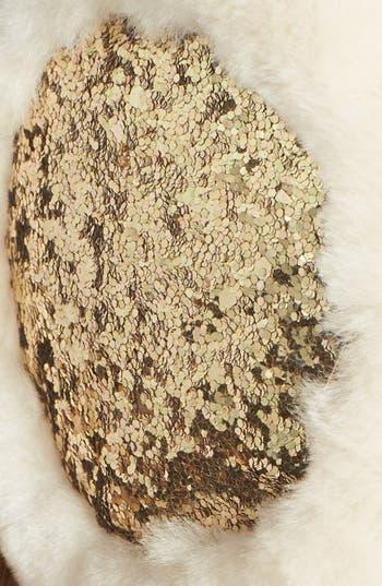 Alternate Image 2  - UGG® Australia Glitter Shearling Earmuffs