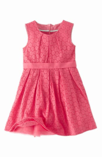 Mini Boden Broderie Party Dress Toddler Girls Little