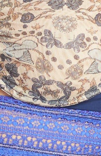 Alternate Image 5  - Maaji 'Periwinkle Velvet' Underwire Balconette Bralette