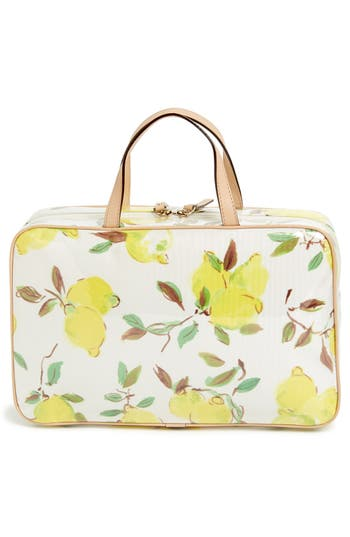 Alternate Image 4  - kate spade new york 'limoncello bouquet - manuela' cosmetics case